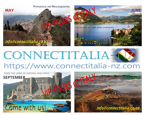 Connect Italia NZ Tours of Italy